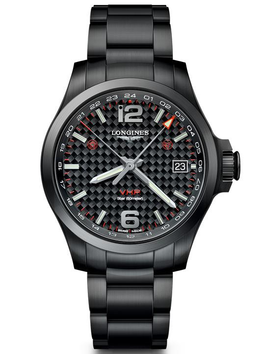 Longines Conquest V.H.P GMT Flash Setting