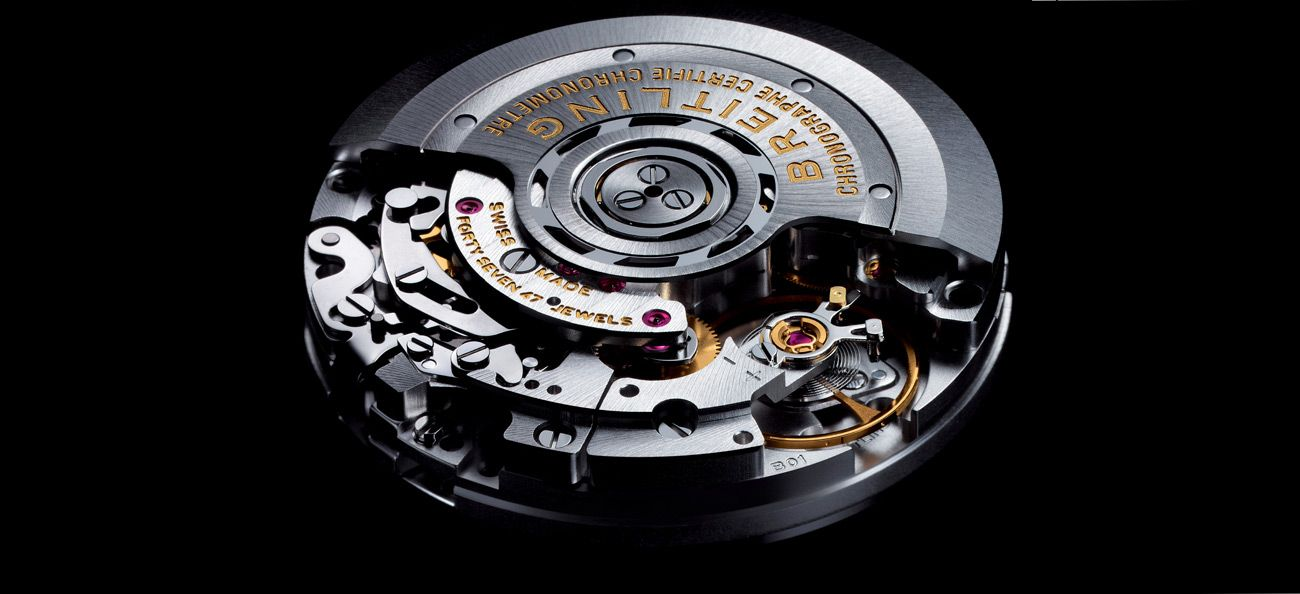 Breitling 01 Calibre in-house automatic movement