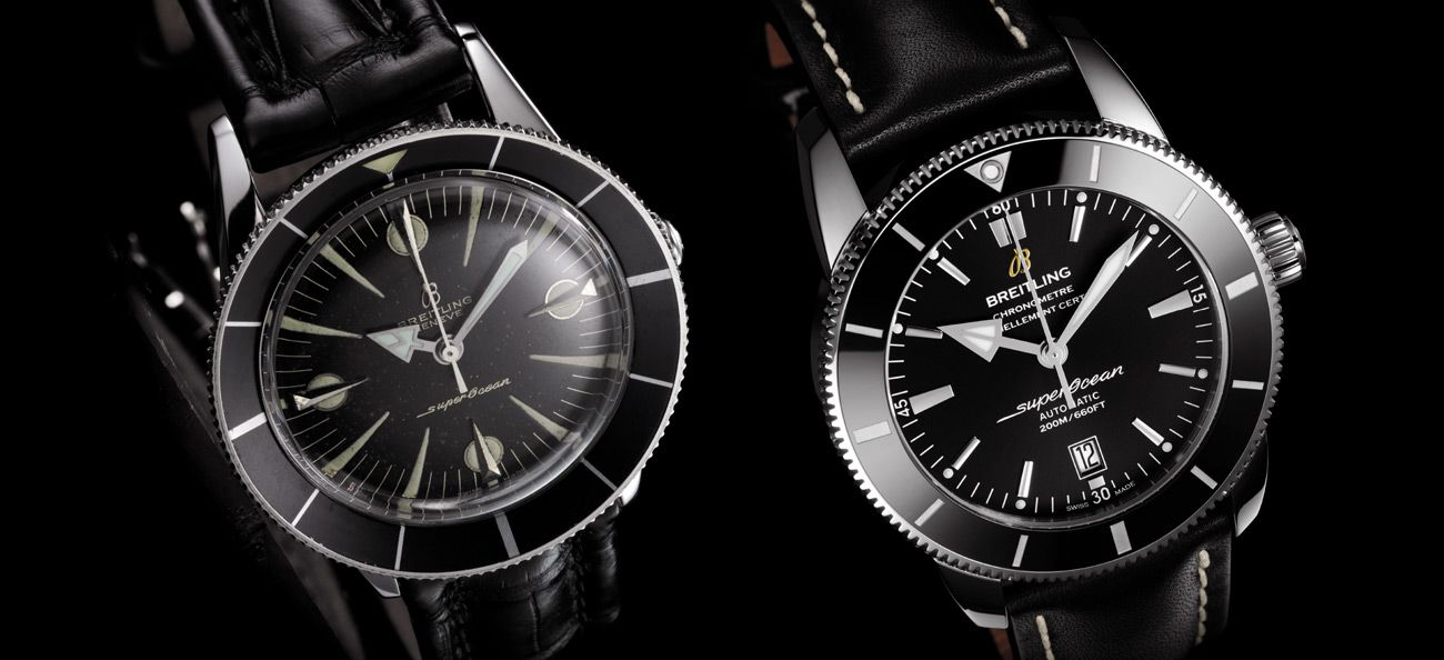 Breitling Superocean, and Superocean Heritage II