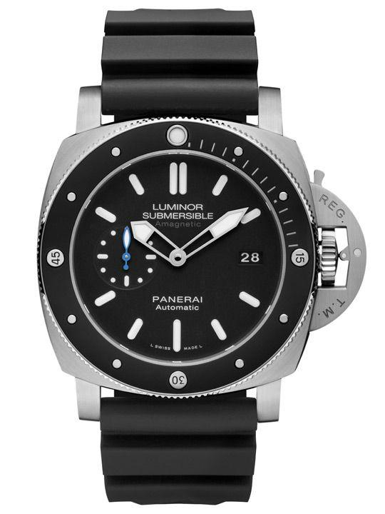 Panerai Luminor PAM 1389 Submersible 1950 Amagnetic 3 Days Automatic Titanio