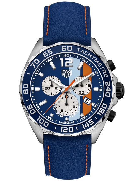 TAG Heuer F1 Gulf Oil Special Edition