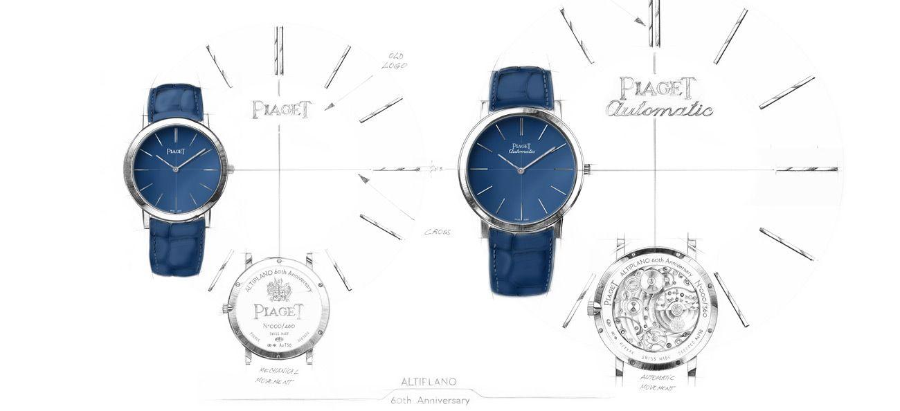 Piaget 60th Anniversary Limited Editions