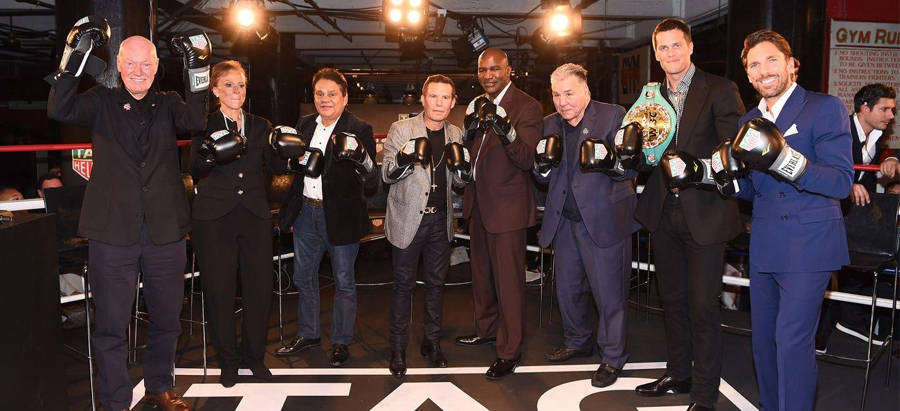 TAG Heuer CEO Jean-Claude Biver with Muhammad Ali's family and friends