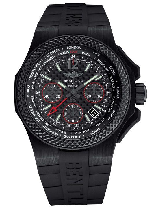 Breitling Bentley GMT B04 S Carbon Body