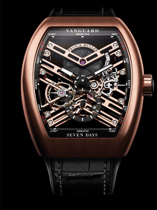 Franck Muller Vanguard 7 Days Power Reserve Skeleton
