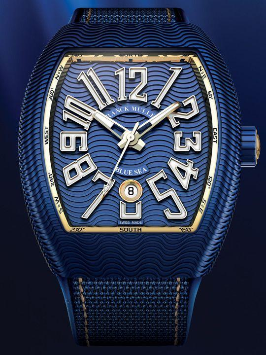 Franck Muller Vanguard Blue Sea