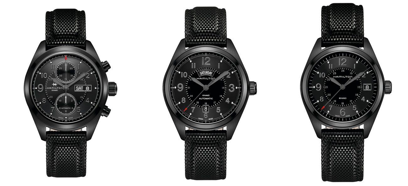 Watch Of The Day Hamilton Khaki Field Black Crown Watch Blog